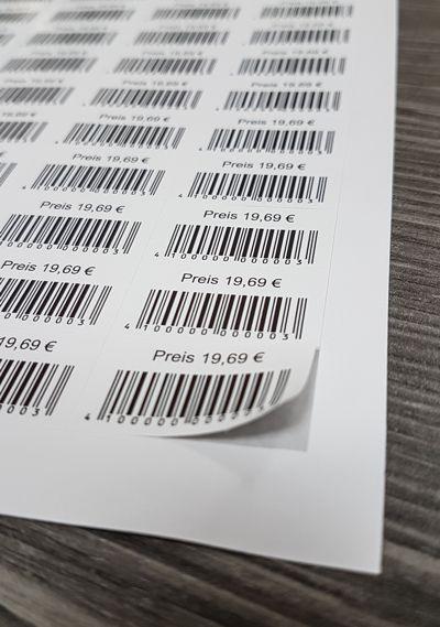 Gold Oder Silber Sticky A4 Drucker Etiketten Metallic Laser Etiketten