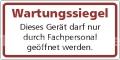 Grundplaketten, Prüfplaketten, Prüfaufkleber, Siegel & Wartungsaufkleber