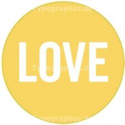 Love Aufkleber