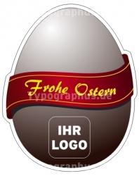 Oster-Ei Aufkleber