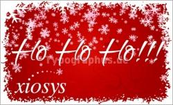 weihnachtsaufkleber auf wunsch mit logo oder individuellem text aufkleber drucken. Black Bedroom Furniture Sets. Home Design Ideas