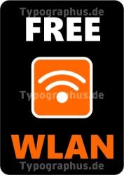 Wireless LAN Aufkleber