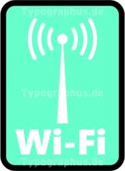 WLAN WiFi Wireless LAN Aufkleber