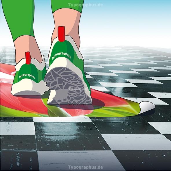 Floor Graphics - Bodenaufkleber INDOOR R10 Premium