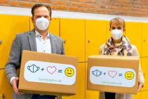 500 Masken für Berliner Grundschule