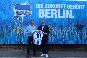 Typographus wird offizieller Aufkleber-Partner von Hertha BSC