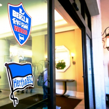 Hertha BSC Fenster