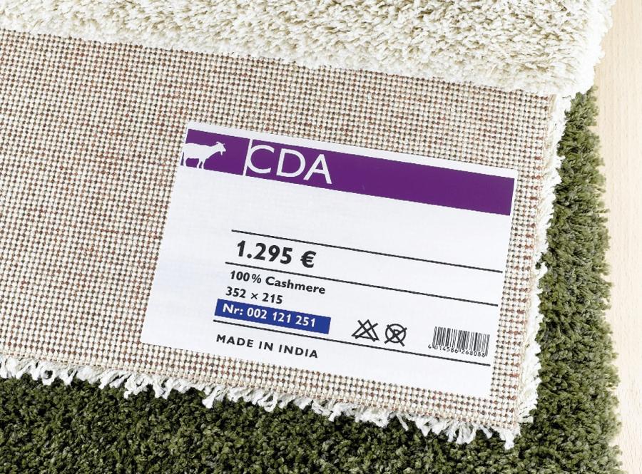 Acetatseide Textilaufkleber Im Wunschformat Drucken